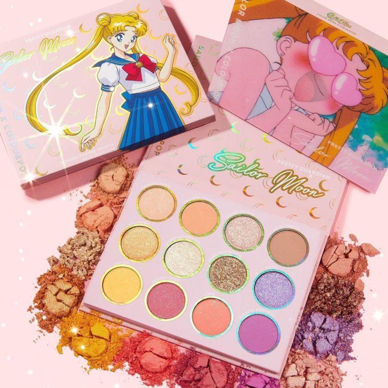 Colourpop x Sailor Moon Collection Pretty Guardian Shadow Palette