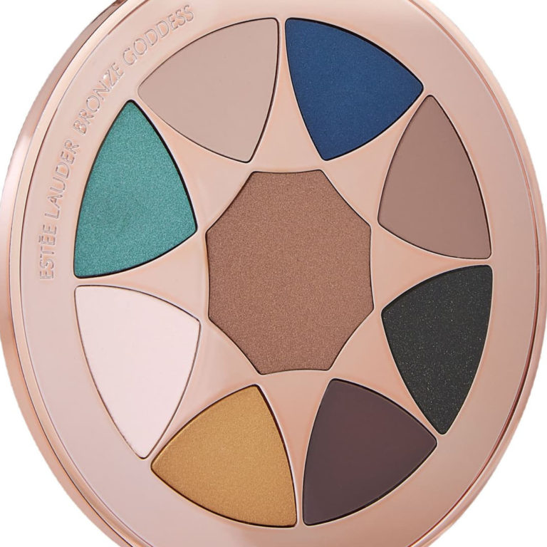 Estée Lauder Bronze Goddess Azur The Summer Look Eyeshadow Palette Closer