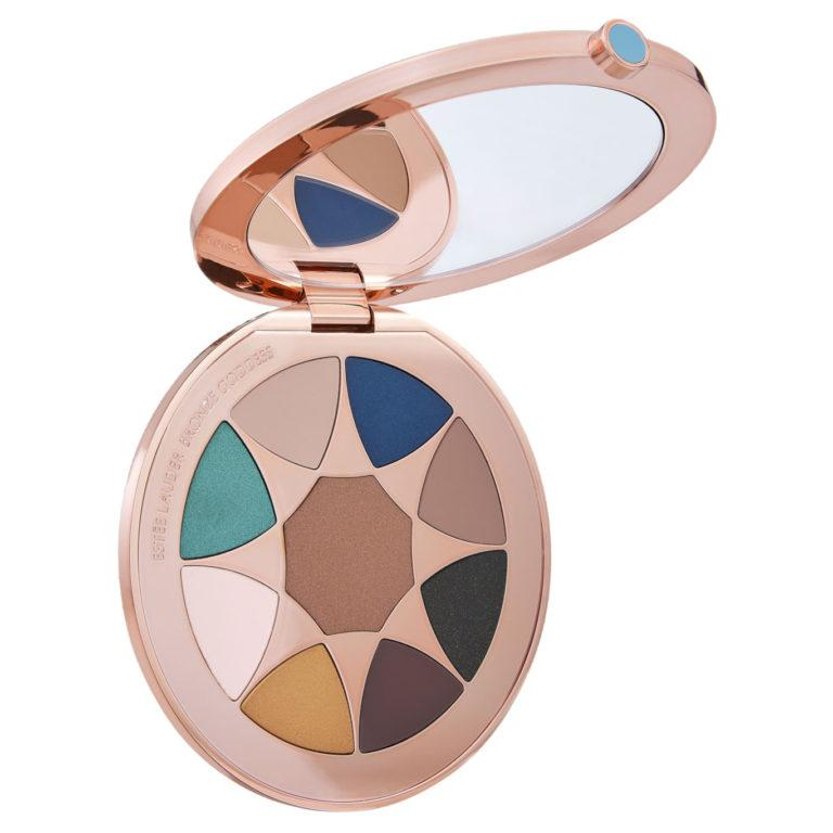 Estée Lauder Bronze Goddess Azur The Summer Look Eyeshadow Palette Open