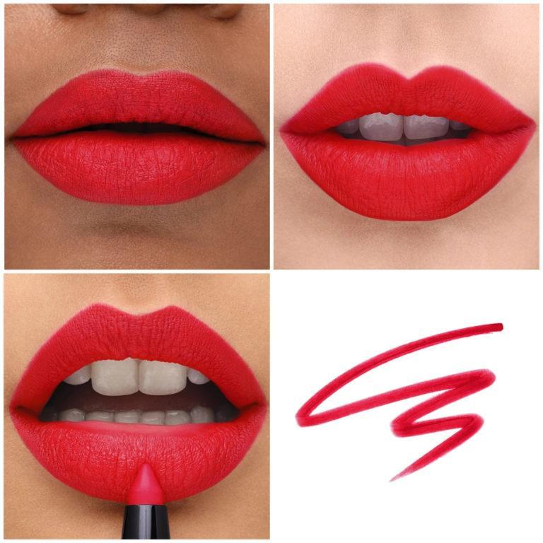 Haus Labs Le Monster Matte Lip Crayon Swatch Mastered