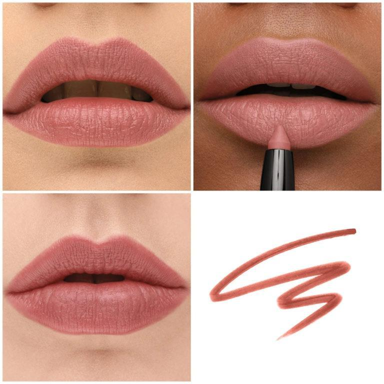 Haus Labs Le Monster Matte Lip Crayon Swatch Talk Dirty