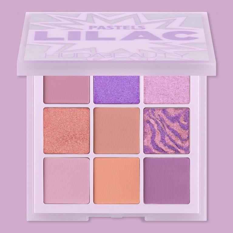 Huda Beauty Pastels Lilac Palette