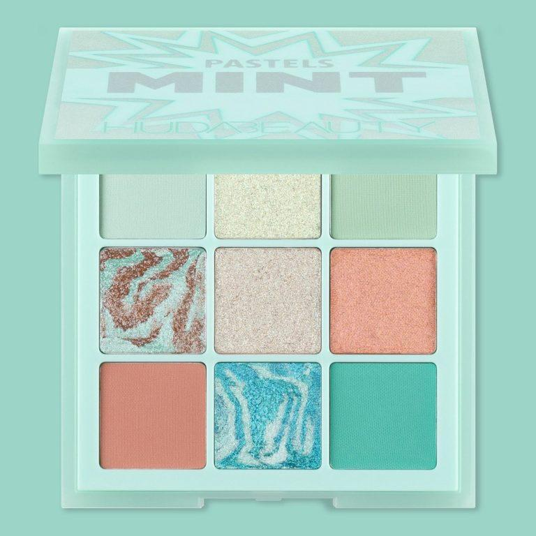 Huda Beauty Pastels Mint Palette