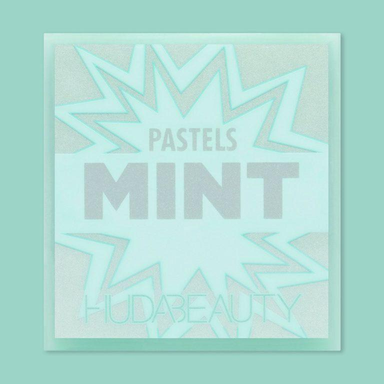 Huda Beauty Pastels Mint Palette Cover