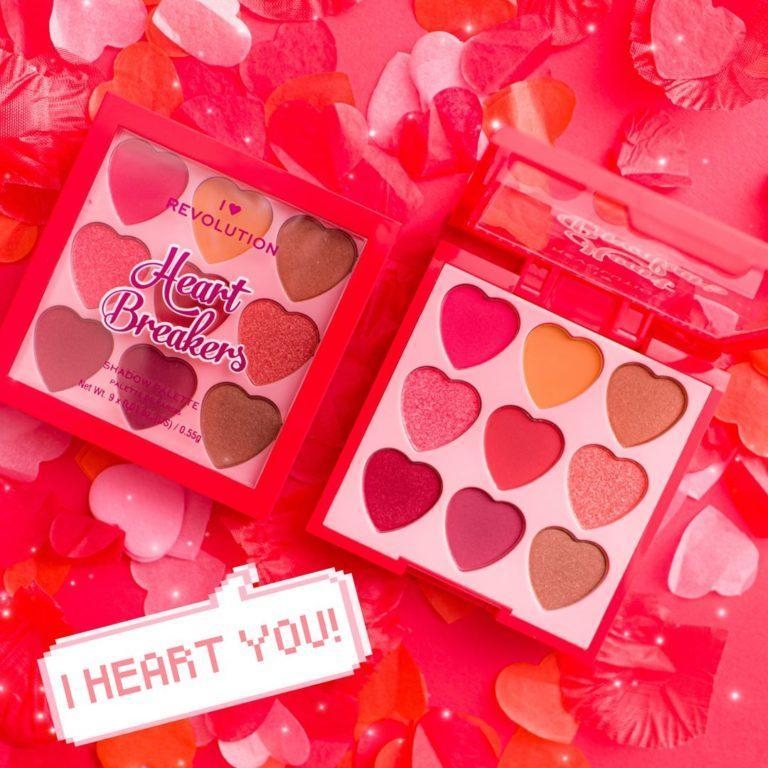 I Heart Revolution Heartbreakers Collection Eyeshadow Palettes Courage