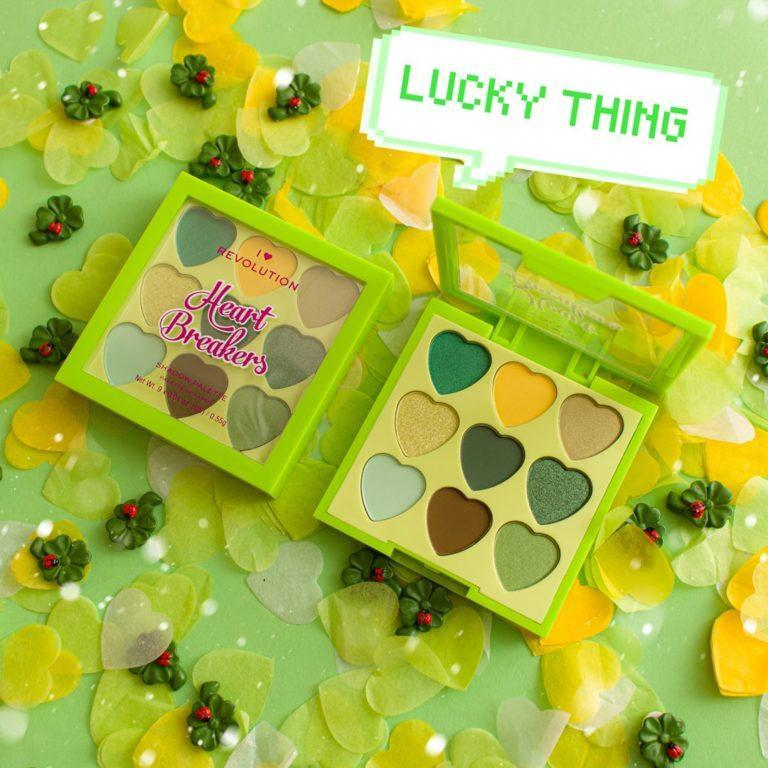 I Heart Revolution Heartbreakers Collection Eyeshadow Palettes Lucky