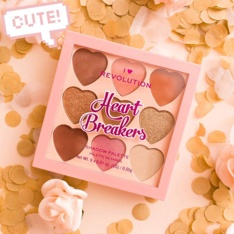 I Heart Revolution Heartbreakers Collection Eyeshadow Palettes Majestic