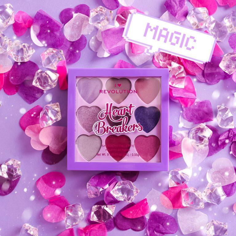 I Heart Revolution Heartbreakers Collection Eyeshadow Palettes Mystical