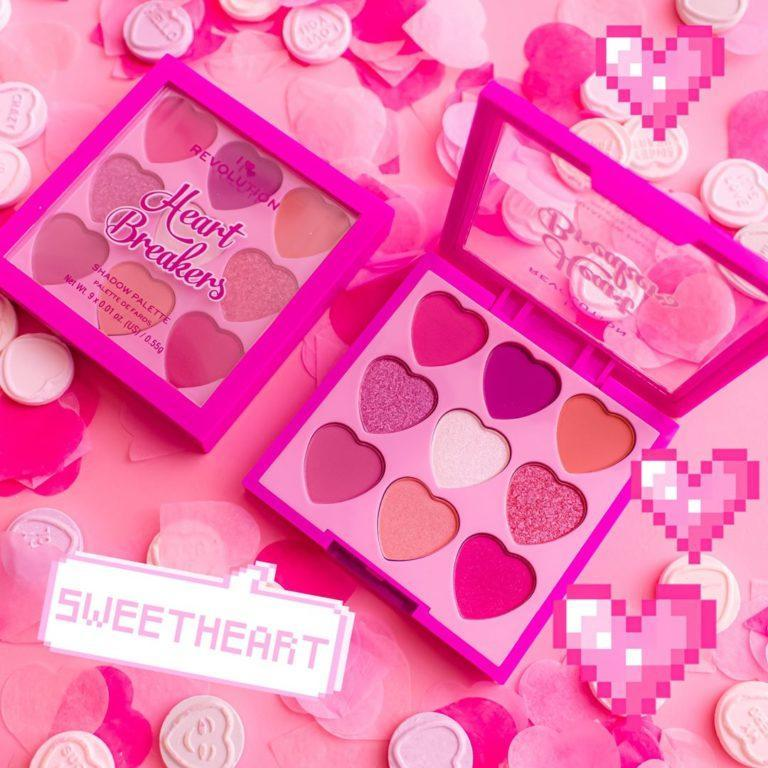 I Heart Revolution Heartbreakers Collection Eyeshadow Palettes Sweetheart
