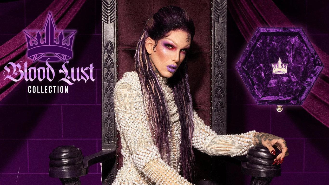 Jeffree Star Cosmetics Blood Lust Collection Blog Header