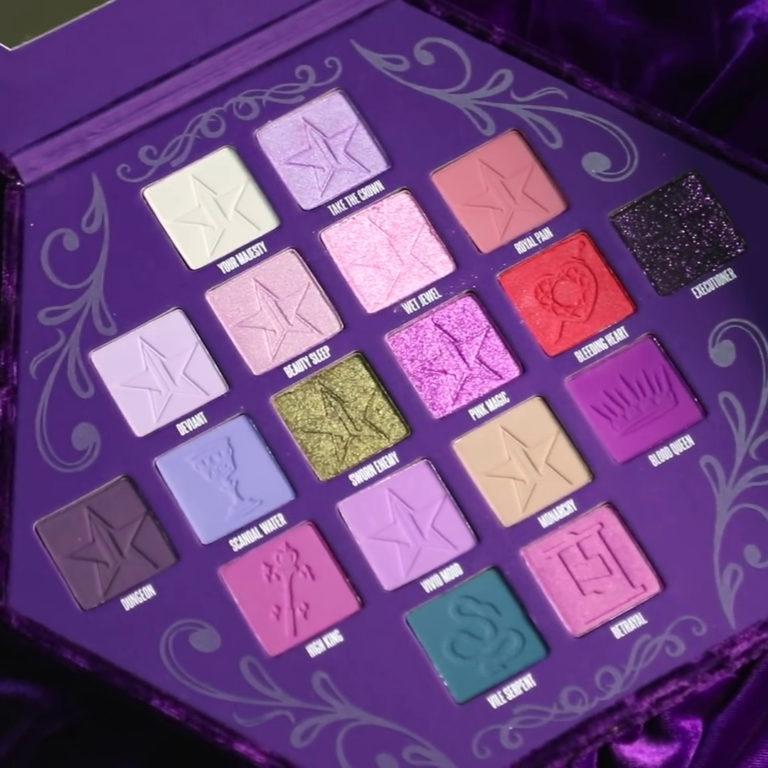 Jeffree Star Cosmetics Blood Lust Collection Paleta Entera Cerca