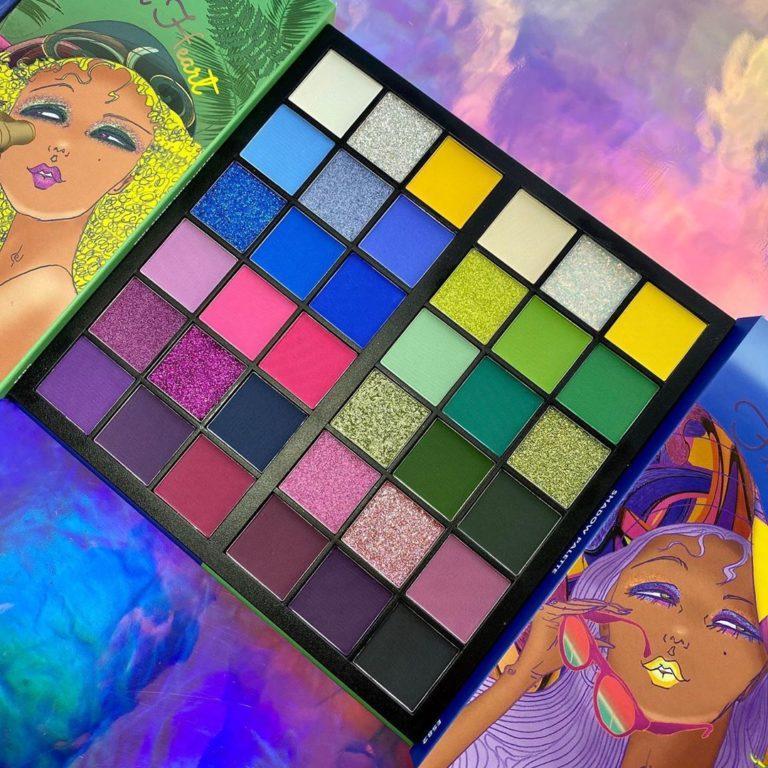 Kara Beauty KaraDUO Bailey vs Hailey Palette Promo