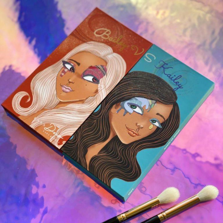 Kara Beauty KaraDUO Bailey vs Hailey Palette Promo Cover