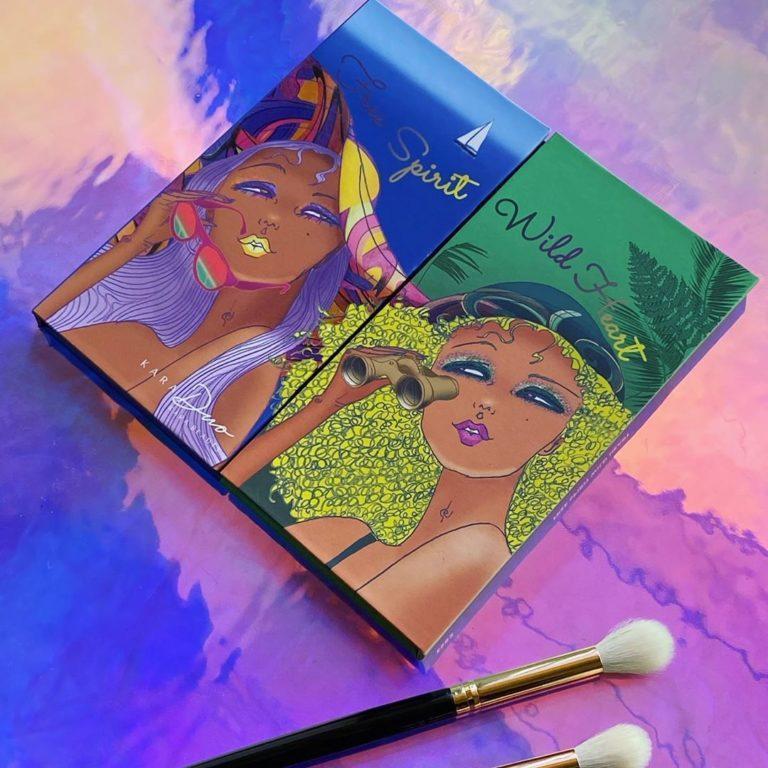 Kara Beauty KaraDUO Free Spirit, Wild Heart Palette Cover