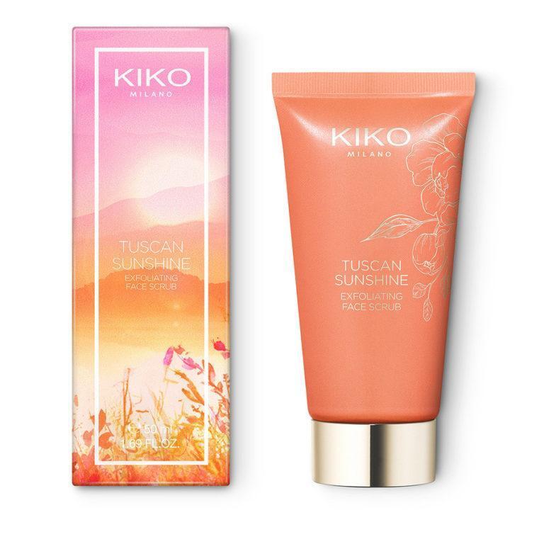 Kiko Milano Tuscan Sunshine Exfoliating Face Scrub