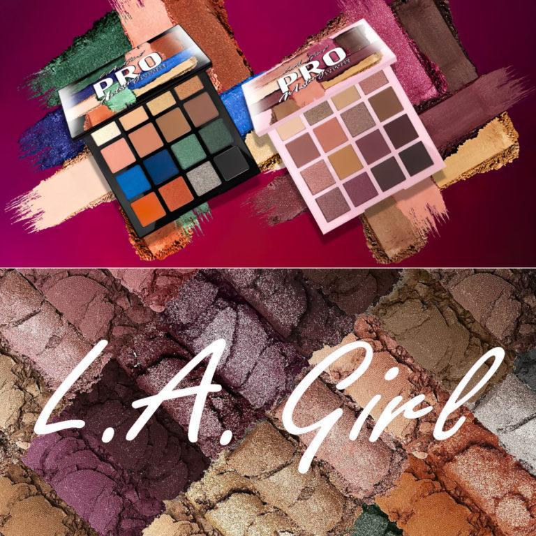 L.A. Girl 16 Color Artistry Eyeshadow Palette & 16 Color Mastery Eyeshadow Palette Post Cover