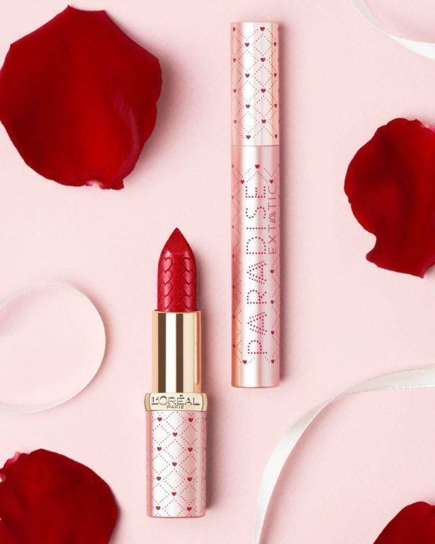L'Oréal Paris Valentines Day Limited Editions Lipstick & Mascara Blog