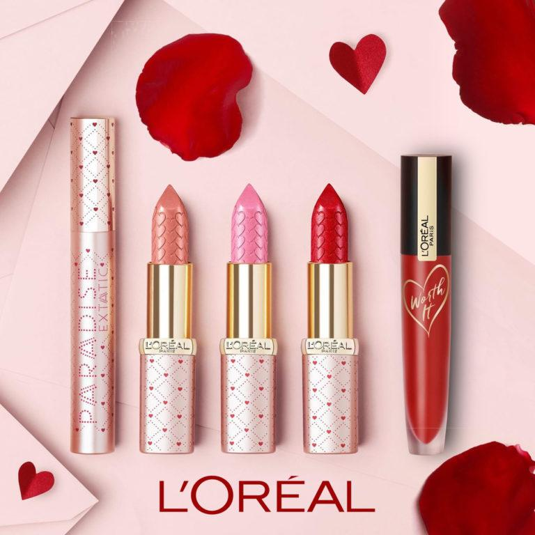 L'Oréal Paris Valentines Day Limited Editions Post Cover