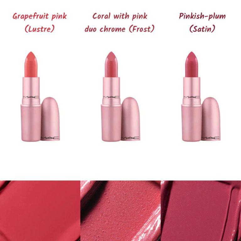 MAC Cosmetics Petal Power Collection Lipsticks