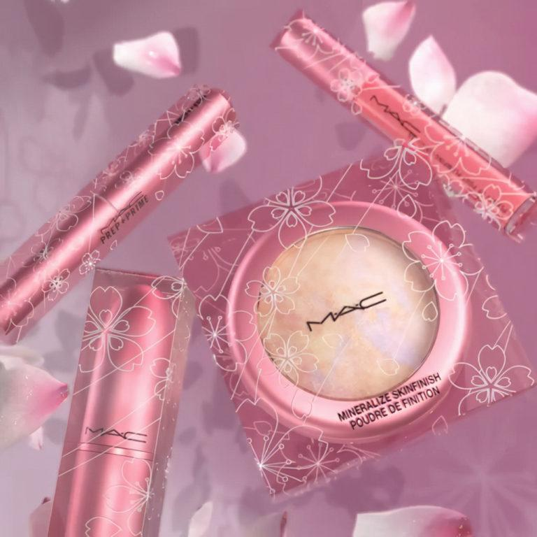 MAC Cosmetics Petal Power Collection Packaging