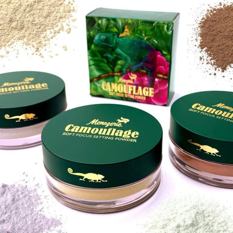 Menagerie Cosmetics Soft Focus Setting Powders Post Cover