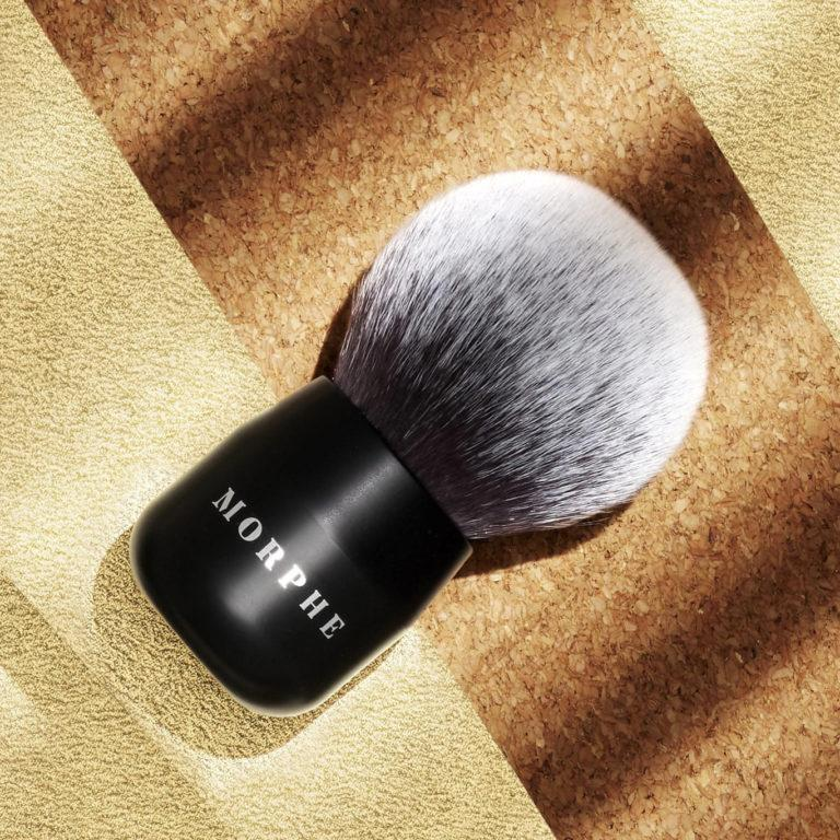 Morphe Here Comes The Stun Collection Glamabronze Deluxe Face & Body Brush
