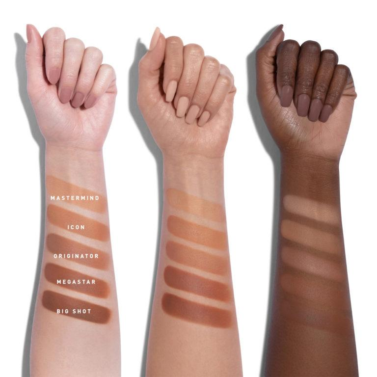 Morphe Here Comes The Stun Collection Glamabronze Face & Body Bronzers Arm Swatches 1
