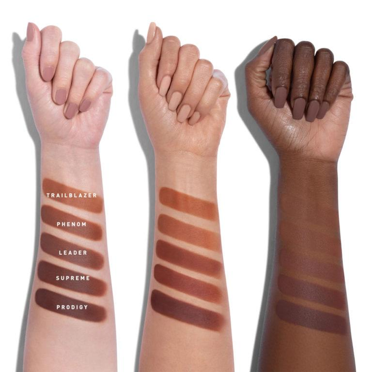 Morphe Here Comes The Stun Collection Glamabronze Face & Body Bronzers Arm Swatches 2