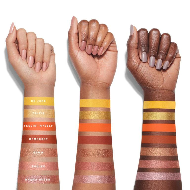 Morphe x Jaclyn Hill Palette Volume II Arm Swatches Row 2