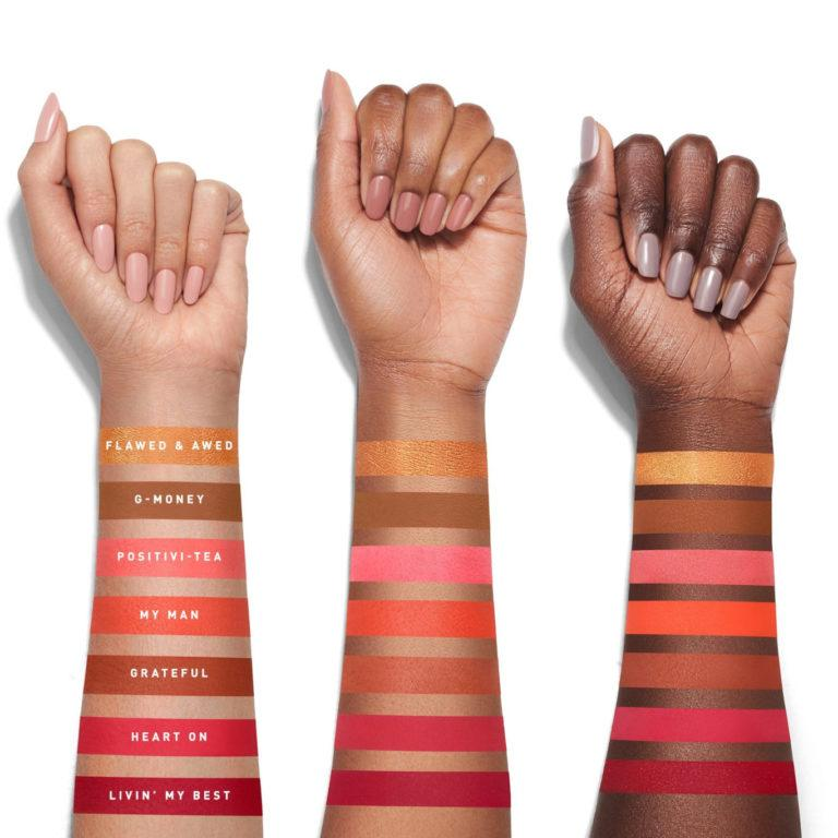 Morphe x Jaclyn Hill Palette Volume II Arm Swatches Row 3