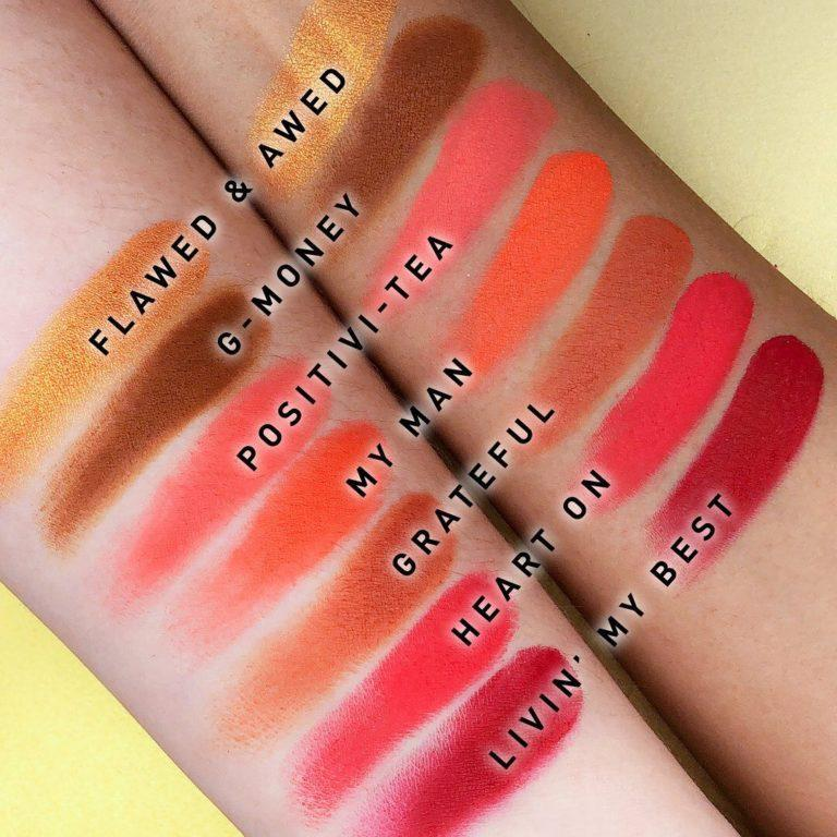 Morphe x Jaclyn Hilll Palette Swatches 3
