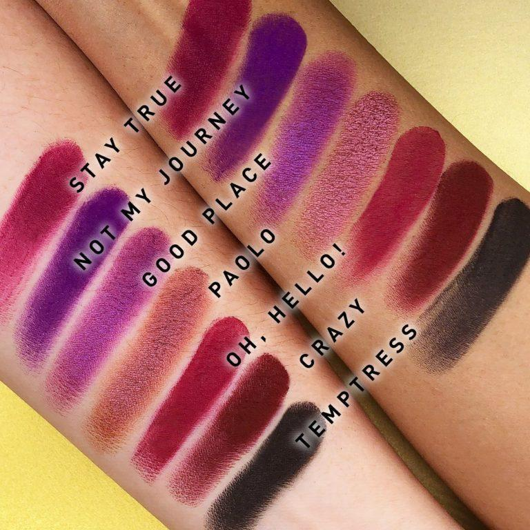 Morphe x Jaclyn Hilll Palette Swatches 5