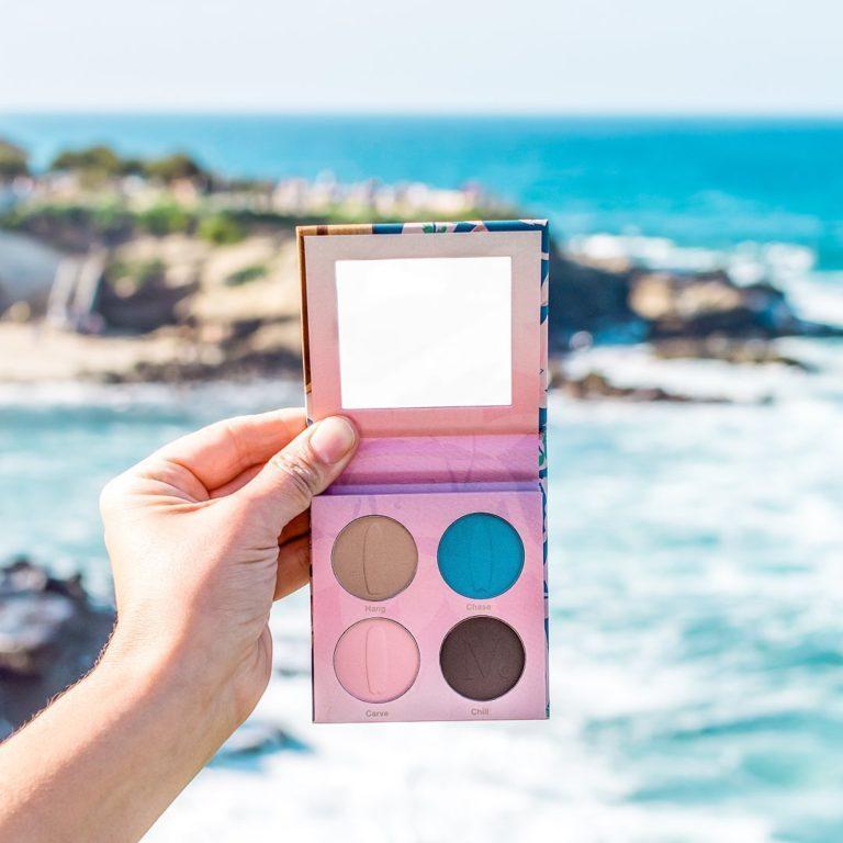 Nomad Cosmetics Encinitas Eyeshadow Palette Promo Alt