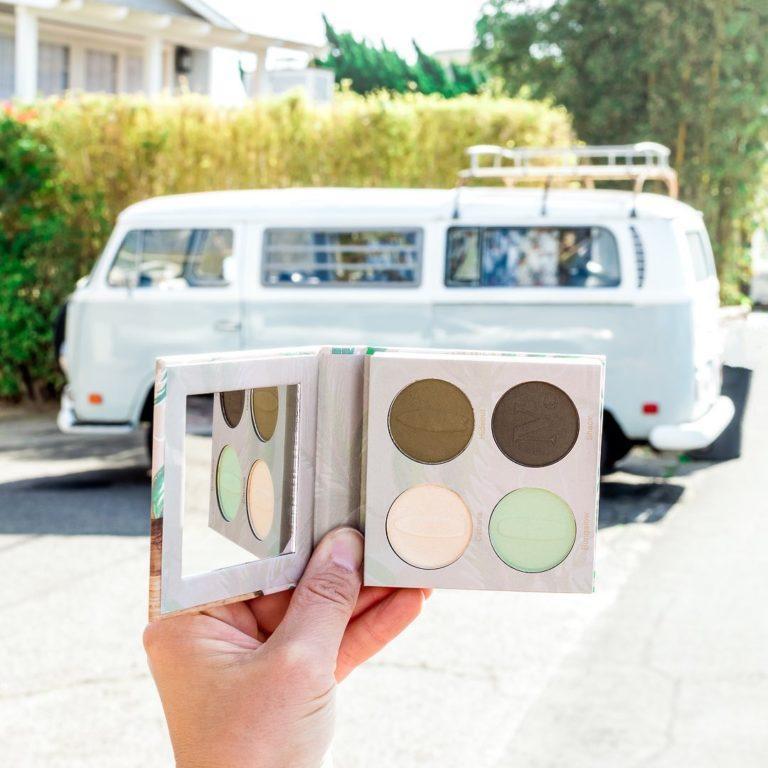 Nomad Cosmetics Malibu Eyeshadow Palette Promo Alt