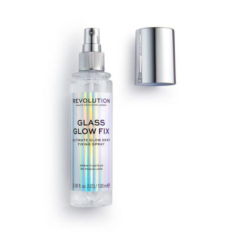 Revolution Glass Glow Fix Dewy Fixing Spray