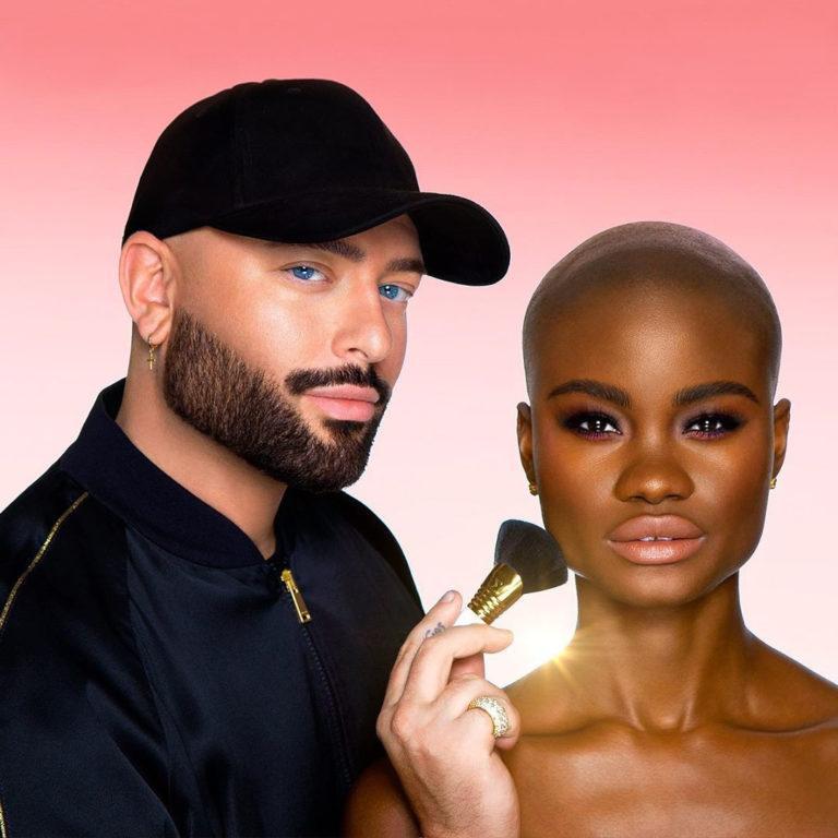 Sigma x Jordan Liberty Makeup Brushes Official Promo Clean