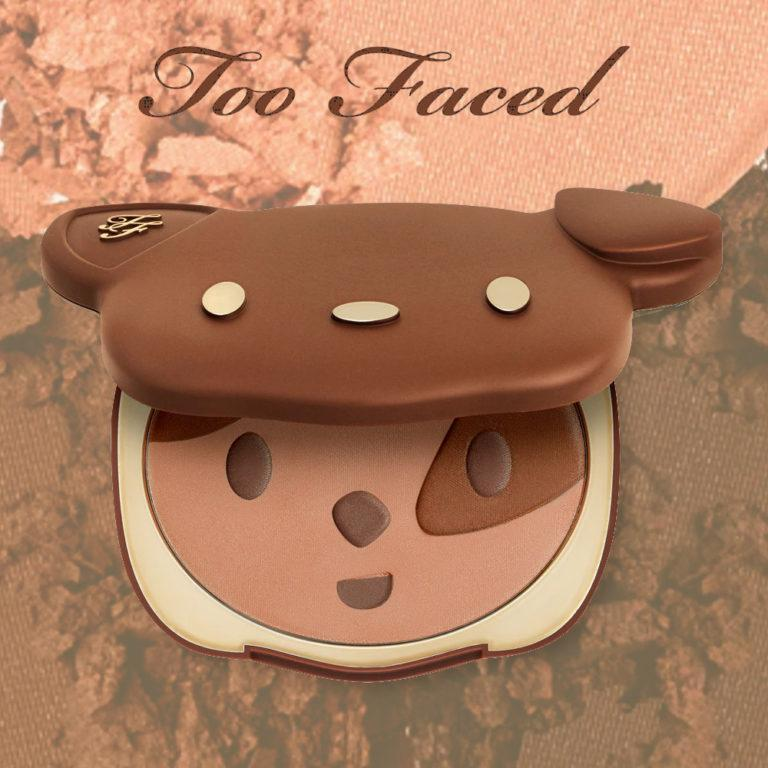 Too Faced Sun Puppy Bronze Limited Edition Clover Compact Post Cover