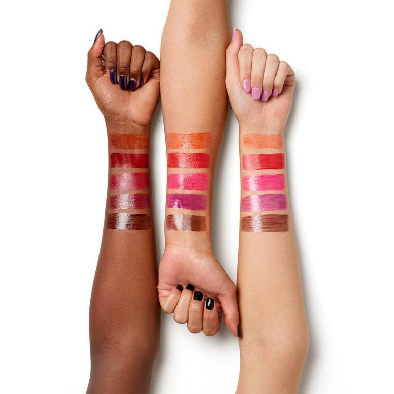 Urban Decay Wired Collection Wired Vice Lip Chemistry Arm Swatches