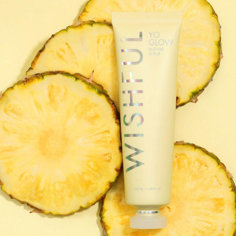 Wishful Yo Glow Enzyme Scrub Pineapple