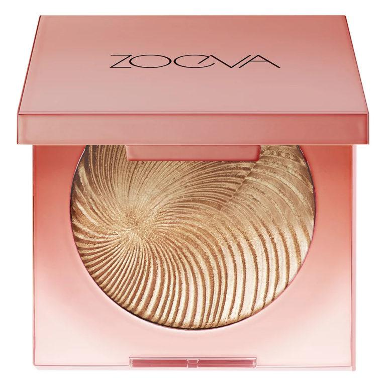 ZOEVA Visionary Light Multi Use Face Powder Surreal (metallic bronze with silver and bronze pearls)