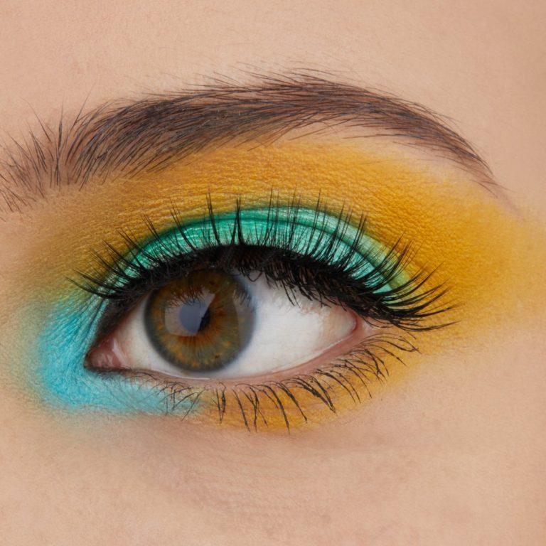 BH Cosmetics Colori Vivaci Palette Eye Swatch
