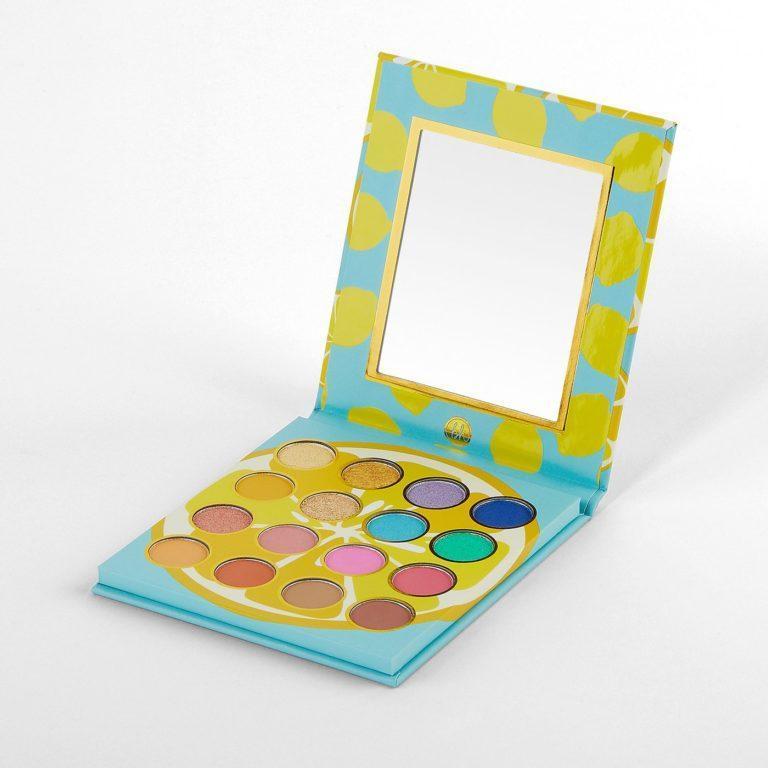 BH Cosmetics Colori Vivaci Palette Open