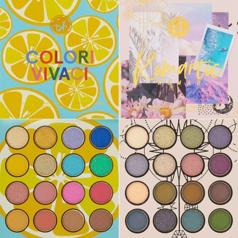 BH Cosmetics Colori Vivaci & Romantic Nomad Palettes Post Cover