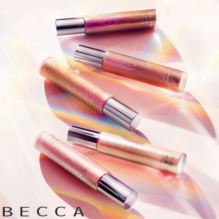 Becca Ignite Liquified Light Highlighter Post Cover Logo