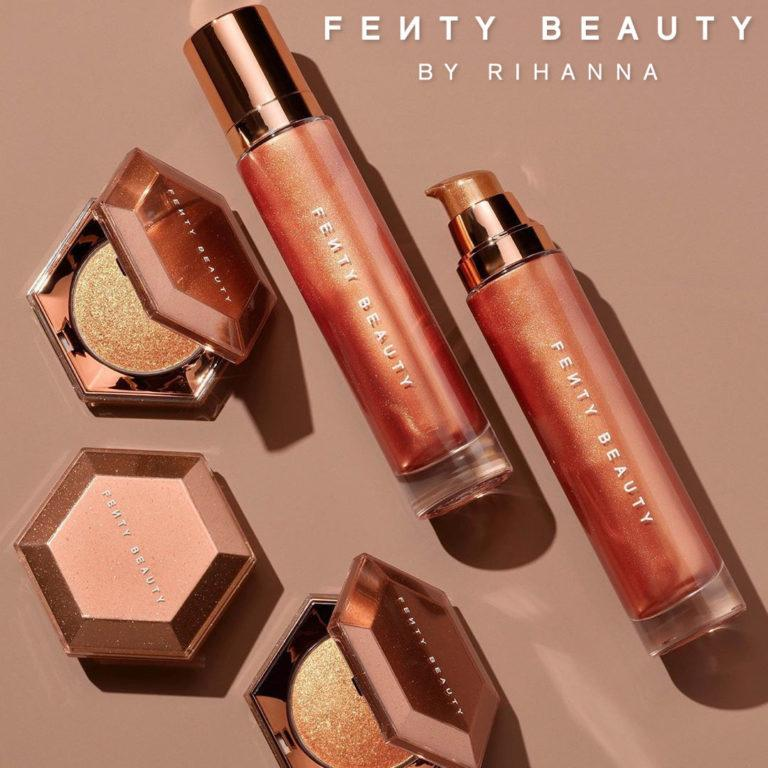 Body Lava Body Luminizer & Diamond Bomb All Over Diamond Veil In Cognac Candy Post Cover Logo