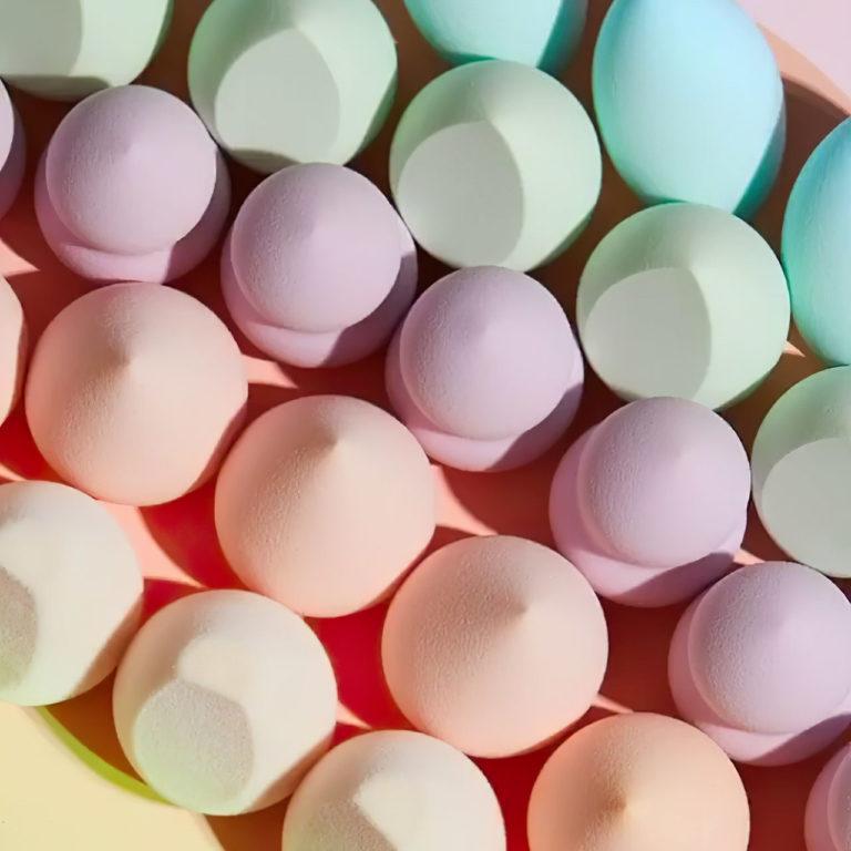 Colourpop Cosmetics Blending Sponges Closer