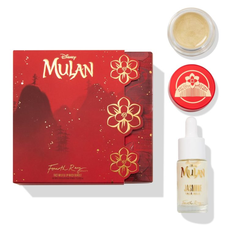 Colourpop x Mulan Fourth Ray Beauty Face Milk & Lip Mask Bundle