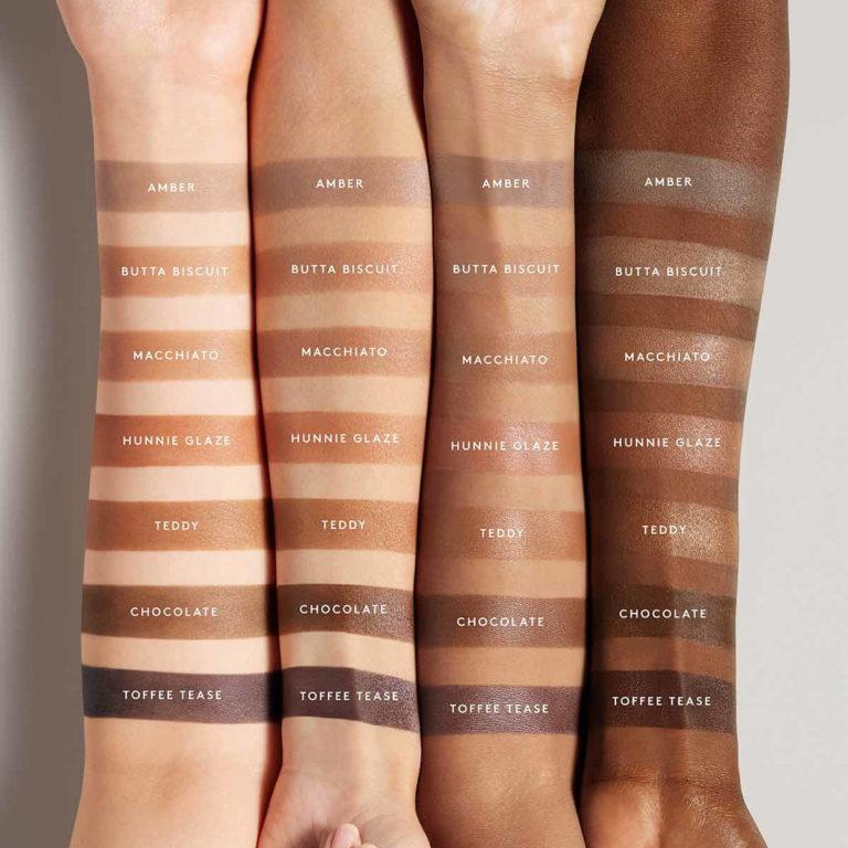 Fenty Beauty Cheeks Out Freestyle Cream Bronzer Arm Swatches