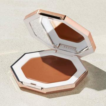 Fenty Beauty Cheeks Out Freestyle Cream Bronzer In Hunnie Glaze