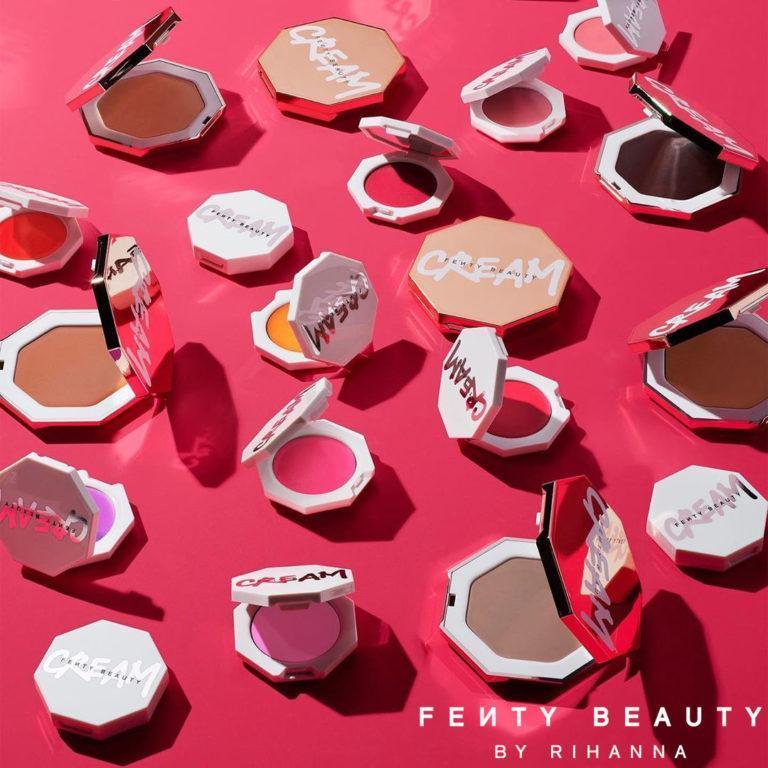Fenty Beauty Cheeksout Collection Promo Logo